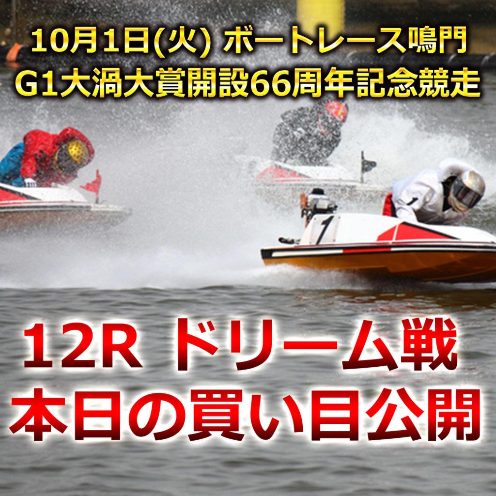 G1大渦大賞開設66周年記念競走(ボートレース鳴門)優勝戦買い目競艇予想